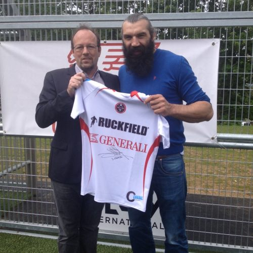 Sébastien Chabal made a gift to HumS
